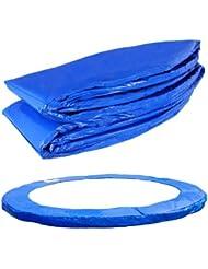 Terena® Protège-ressorts de trampoline en PVC 183- 244- 305- 366- 396- 427- 457- 488 cm Bleu Anti-UV