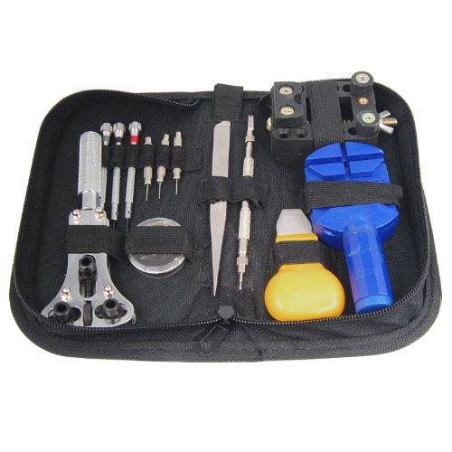 TRIXES Kit de 13outils pour la Remplacement de la batterie, la régulation du Free Screen Protector et la réparation de montres