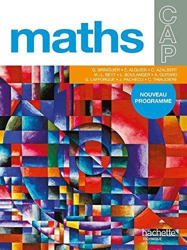 Mathématiques CAP, Livre élève, Ed.2010 by Eliane Alquier (2010-04-28)