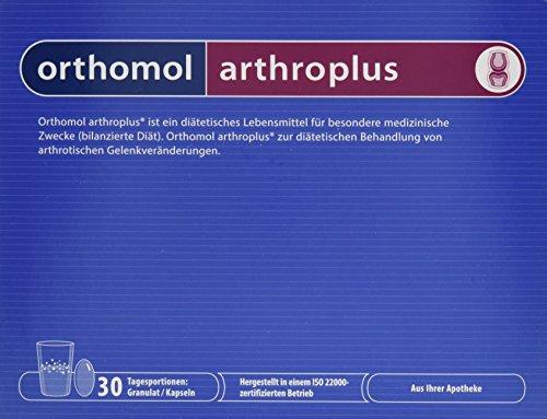 Orthomol Arthroplus Granulat/Kapseln, 1er Pack (1 x 30 Stück) (Kapseln B6 30)