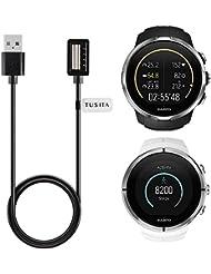 Suunto Spartan Ultra / Sport Chargeur(3,3 pieds / 100 cm), TUSITA Remplacement Magnetic USB Chargeur Câble de charge Cordon Dock Accessoires de synchronisation de données pour Suunto