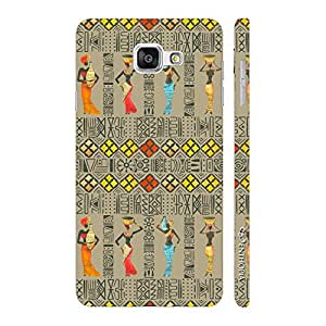 Enthopia Designer Hardshell Case Africano Back Cover for Samsung Galaxy A7(2016)