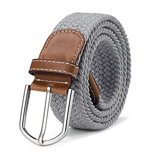 b7f319ae08958c Stoffgürtel Stretchgürtel geflochten und elastisch Gürtel für Damen und  Herren Länge 100 cm bis 130