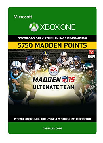 Madden NFL 15: 5,750 Points [Xbox One - Download Code]