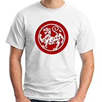Cotton Island - T-shirt TAM0125 ma shotokan tiger stitch red tshirt