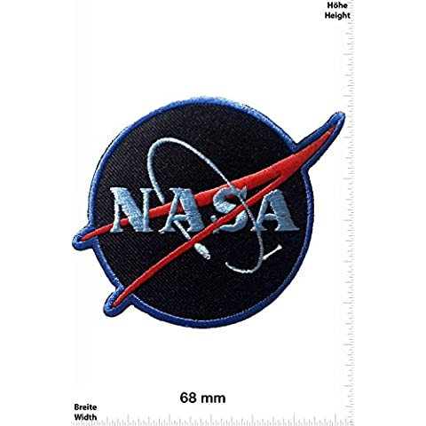 Patch - Nasa - black - Space - Space Patch - Space Mission Aeronautical - (Nasa Patch)