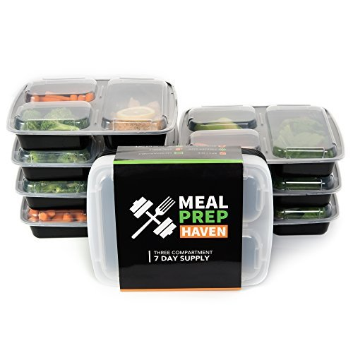 meal-prep-haven-stackable-reusable-3-compartment-food-containers-with-lids-set-of-7