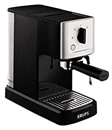 Krups XP3440 - Máquina espresso (1 L, 2 tazas, acero inoxidable)