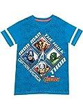 Avengers - Maglietta a maniche corta Ragazzi - Avengers - 3 a 4 Anni