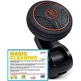Pomo de silicona para la dirección asistida BL-G- Pomo rotador accesorio para el volante de su coche, color rojo