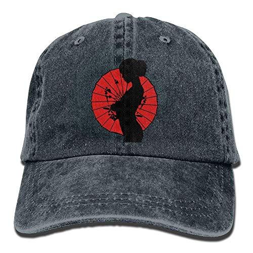 Hoswee Unisex Kappe/Baseballkappe, Sexy Women Denim Hat Adjustable Female Vintage Baseball Cap -