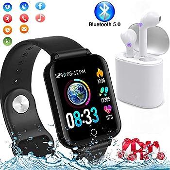 MeterMall W54 - Reloj Inteligente para Fitness, Deportes, Salud ...
