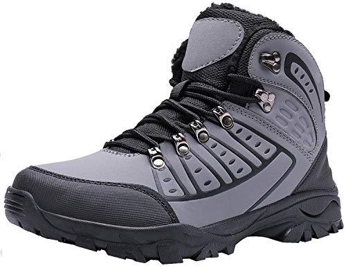 newest collection dfdd0 fd9e1 MAYZERO Chaussures Homme Bottes et Bottines Hiver De Neige Homme Boots  Fourrees Bottines Mode