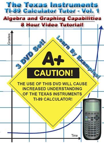 Texas Instruments Ti-89 Calculator Tutor 1 [DVD] [Import]