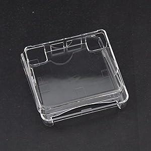 Kristall Schutzhülle Gehäuse Shell Staub Schutzhülle für Gameboy Advance SP GBA SP GAME Konsole, transparent