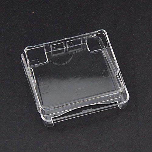 Kristall Schutzhülle Gehäuse Shell Staub Schutzhülle für Gameboy Advance SP GBA SP GAME Konsole, transparent -