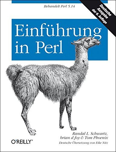 Einf??hrung in Perl by Randal L. Schwartz (2011-12-07)