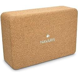 Navaris Bloque para Yoga de Corcho