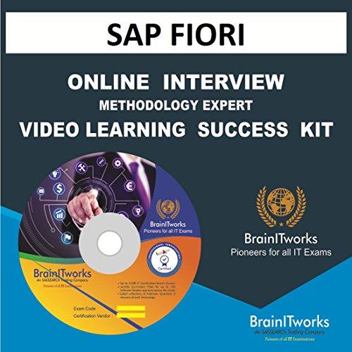 Sap fiori interview & methodology expert online video success kit