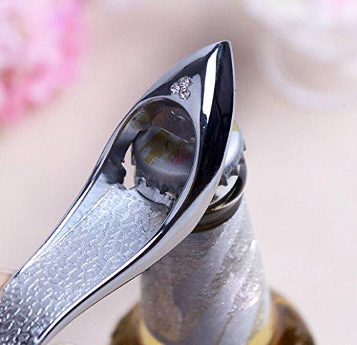 aschenöffner High Heels Form Alloy Tool Hochzeit Geschenk Souvenirs für Bierliebhaber Bierfest Bottle Opener ()