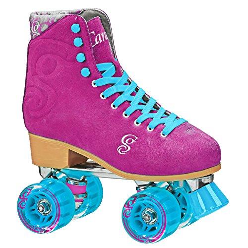 RD Roller Derby Retro Classic Figure quad Skates Rollschuhe Candi Carlin (Berry, US 6 / EU 38)
