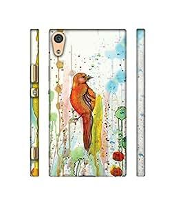 Backlash Birds Design 3D Printed Hard Back Case Cover for Sony Xperia XA1