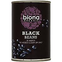 Biona Frijoles Negros Orgánicos En 400g De Agua (Paquete de 6)