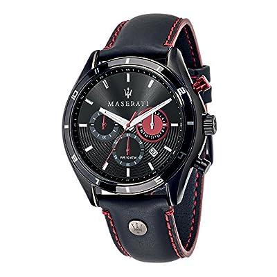 Maserati Reloj Cronógrafo de Cuarzo para Hombre con Correa de Cuero – R8871624002 de MASERATI
