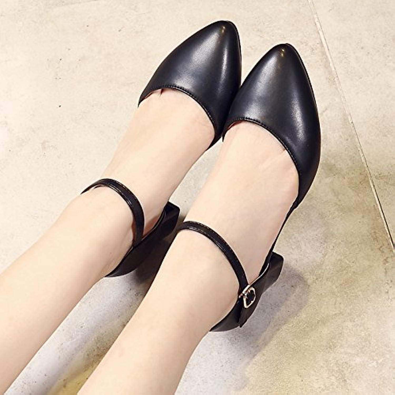 GAOLIM Sommer Sandalen Tip-Mund Dicke mit Baotou Laufschuhe Schuhe für Frauen Frauen Damen-Schuhe Sandalen