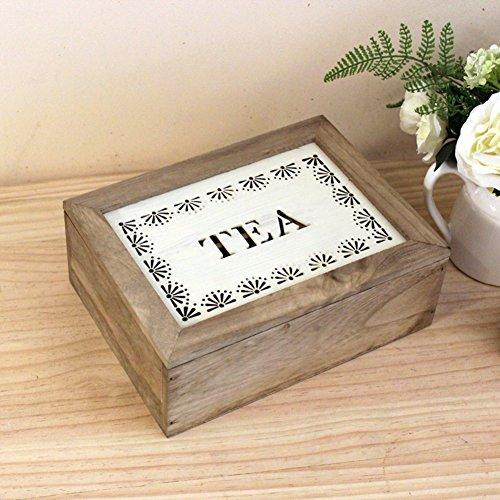 Kaffee Dekorative Aufbewahrungsbox (Geschnitzten hölzernen Tee Aufbewahrungsbox/Kaffee-Boxen aus Holz Aufbewahrungsbox/6 Juwel/dekorative-A)