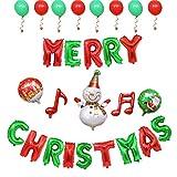 Milopon Weihnachten Ballons Aluminium Merry Christmas Folie Film Aufblasbare Weihnachtsbaum Weihnachtsmann Luftballons Weihnachtsdekorationen Ballon