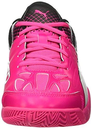 Puma Evospeed Indoor 5.5 Wn's, Scarpe da Calcio Donna Rosa (Pink (Pink Glo-White-Black 01))