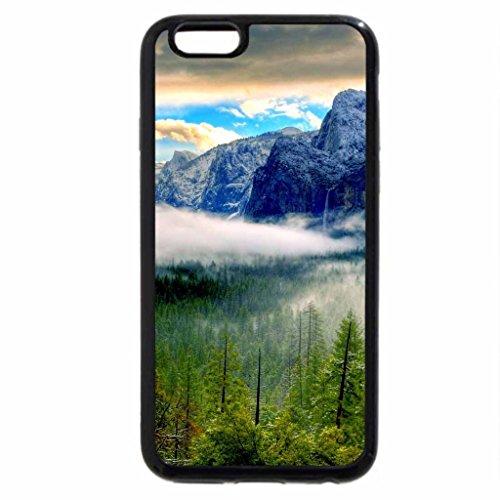 iPhone 6S / iPhone 6 Case (Black) YOSEMITE in FOG