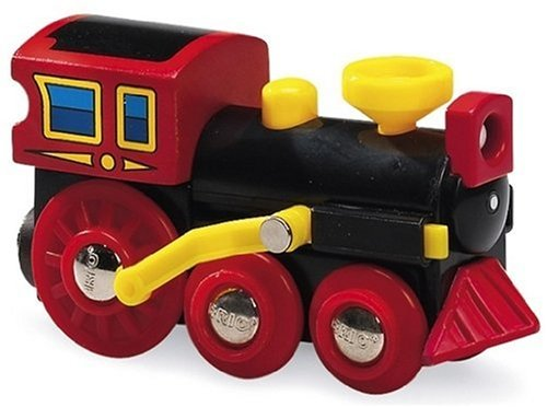 Brio - 33537 - Circuit de train en bois - Locomotive à vapeur classique