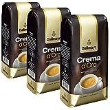 Dallmayr Crema d'Oro Kaffee, Bohnenkaffee, Röstkaffee, ganze Bohnen, Kaffeebohnen, 3 x 1000 g
