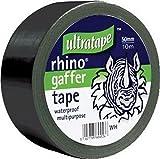 Rhino 50mm 50mtr Multipurpose Gaffer Tape Black
