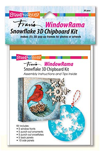 ndowrama Snowflake Spanplatten-Set, 30-teilig ()
