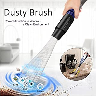 Dust Brush Cleaner Universal Vacuum Attachment Dirt Remover Interface Cleaning Tool As Seen on TV 2018 Fit for Air Vents Keyboards Drawers Car Tools Crafts Jewelry Pets Plants