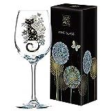 Bug Art Collection Gorgeous Katze Design Wein Glas Geschenk Neu Geschenkverpackung