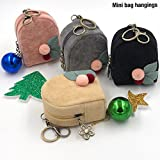 Shopaholic Mini Bag Hangings Coin pouch for Coins/Earphones/Multi Purpose