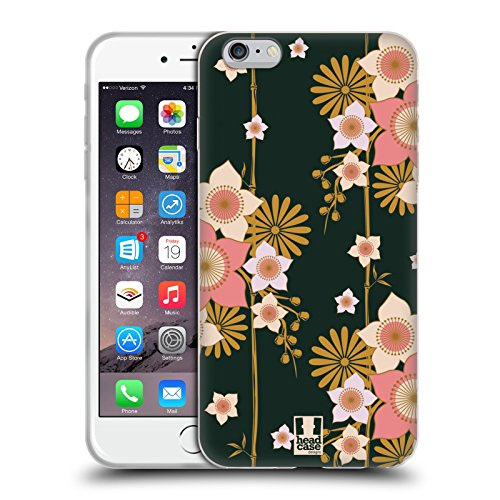 Head Case Designs Bamboo Floreale Lacche Cover Morbida In Gel Per Apple iPhone 7 Plus / 8 Plus Bamboo Floreale