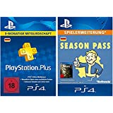 Fallout 4 Season Pass + PlayStation Plus Mitgliedschaft - 3 Monate [PS4 PSN Code - deutsches Konto]