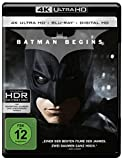 Batman Begins  (4K Ultra HD + 2D-Blu-ray) (2-Disc Version)  [Blu-ray]