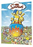 GB eye Ltd 3D Linsenraster-Poster, The Simpsons, Krustyland, 47 x 67 cm