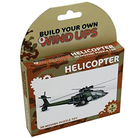 Fizz Creations Ltd Make Your Own Wind Up Helicoptor