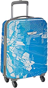Skybags Trooper 55 Cms Polycarbonate Blue Hardsided Cabin Luggage