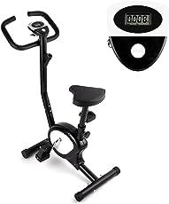 AGM Heimtrainer Fahrrad, F-Bike Fitnessfahrrad Fahrrad Ergometer Heimtrainer mit Verstellbarer Widerstand