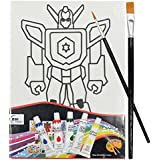 Asian Hobby Crafts Canvas Painting Kit - Transformer