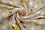 Jersey Lizenzstoff Ernie & Bert 0,5m