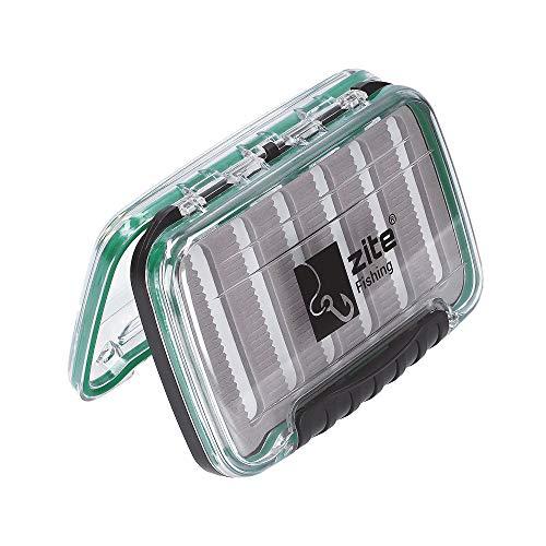 Zite fishing scatola di esche da pesca impermeabile - per cucchiaio spinner lampeggiante e mosca - 15x10x4cm